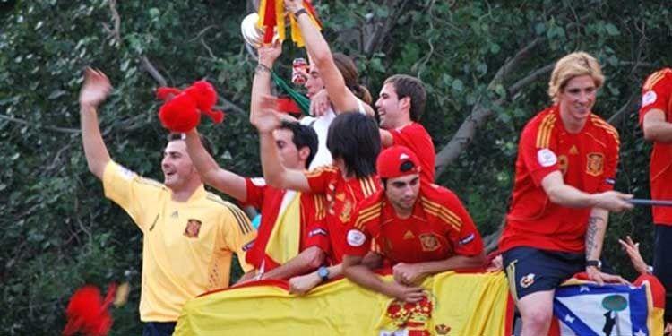 29 giugno 2008 La Spagna vince gli Europei di calcio del 2009