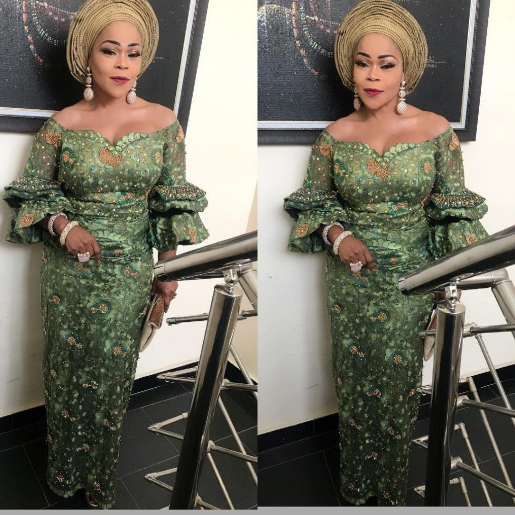 Yes We Love Us Some Gorgeous Aso Ebi Styles Some Naija Senior Citizens Are Giving Us Som African Fashion Traditional African Lace Styles African Lace Dresses