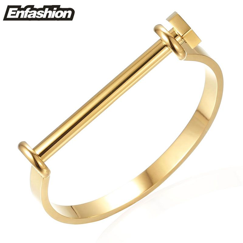 brand fashion item famous arm lady steel matched jewelry women stainless color getsubject bangle aeproduct screw gold bangles upper bracelet luxury d