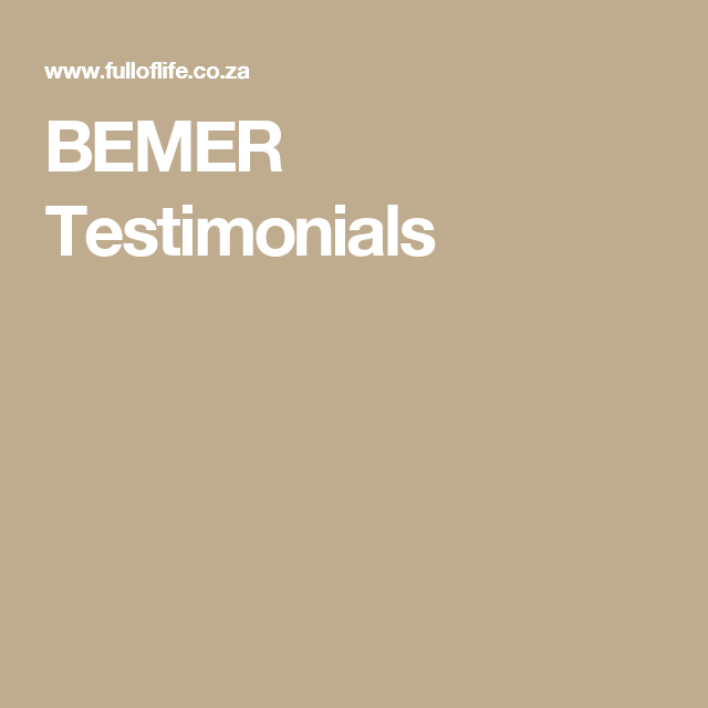 BEMER Testimonials | PEMF | How to stay healthy, Healthy