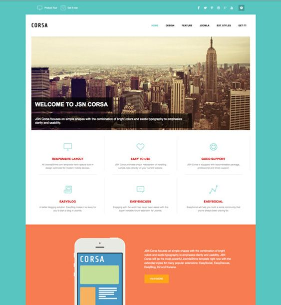 This free bootstrap joomla template offers a flat design a this free bootstrap joomla template offers a flat design a responsive layout 4 module styles 15 template parameters 3 menu styles and more maxwellsz