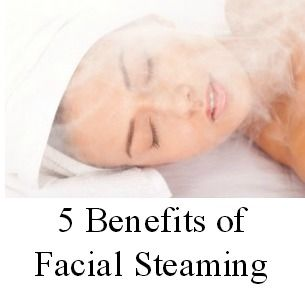 Home remedy steam facial