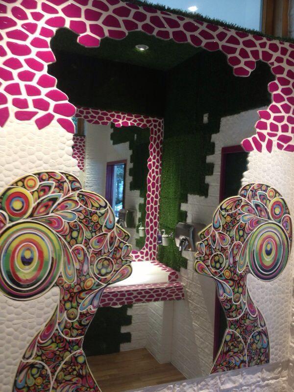 bathroom kitsch&chic