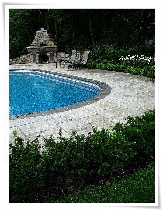 Best 25 backyard pool landscaping ideas on pinterest for Backyard inground pool designs