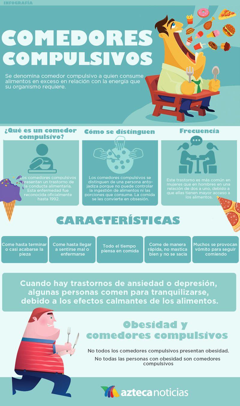 Comedores compulsivos #infografia | Médicos | Comedores ...