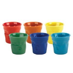 Bialetti 2-Oz Crinkled Espresso Cups