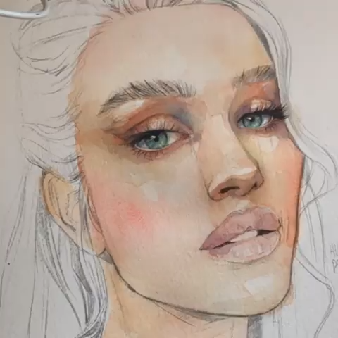 Great Pictures Peach Paint Coloring Tips Even If You Ve Always Dreamed Of Livin In 2021 Watercolor Portrait Tutorial Watercolor Art Face Watercolor Paintings Tutorials