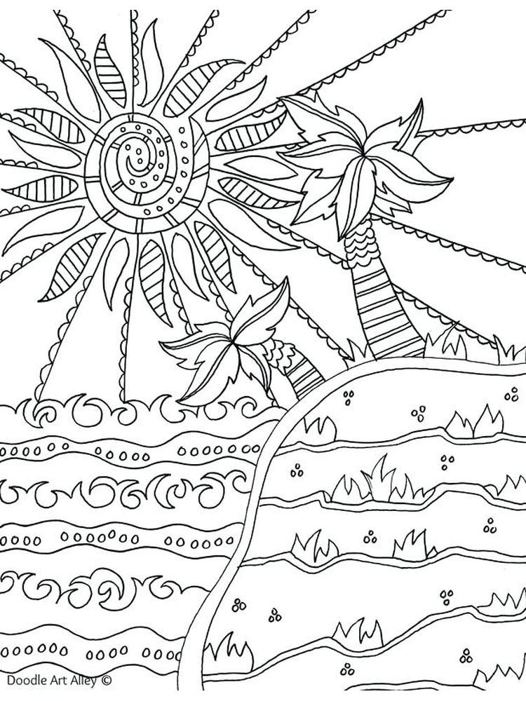 Summer Coloring Sheets Crayola Below Is The Beautiful Beach Coloring Page Collection T Coloring Pages Inspirational Summer Coloring Pages Beach Coloring Pages