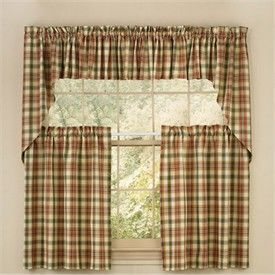 Elegant Checkered Kitchen Curtains Checkered Kitchen Curtains Give Your