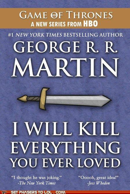 George R. R. Martin's Next Book.