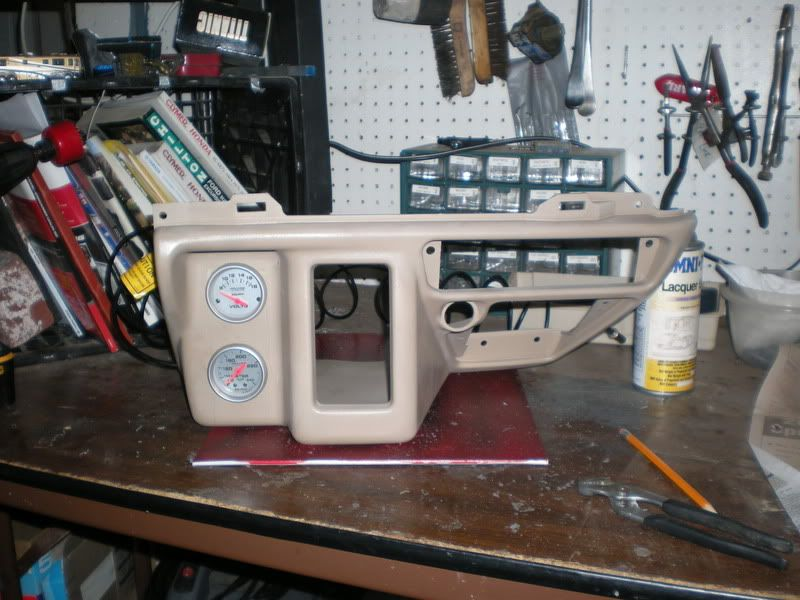 F650 lower dash panel in Excursion | Excursion Stuff | Ford
