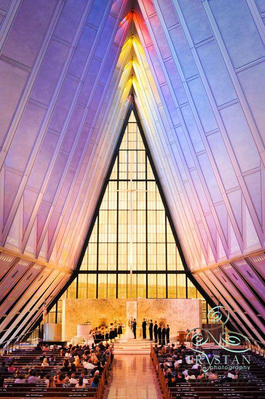 Selected Air Force Academy Chapel Weddings Chapel