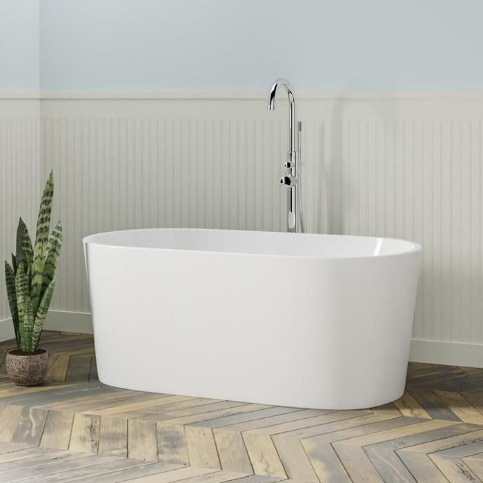 67 Wilmington Acrylic Freestanding Tub Bathtubs Tub Paint
