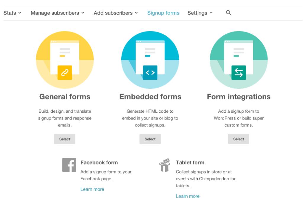 Mail Chimp For Word Press Mailchimp Email Marketing Platform Successful Blog