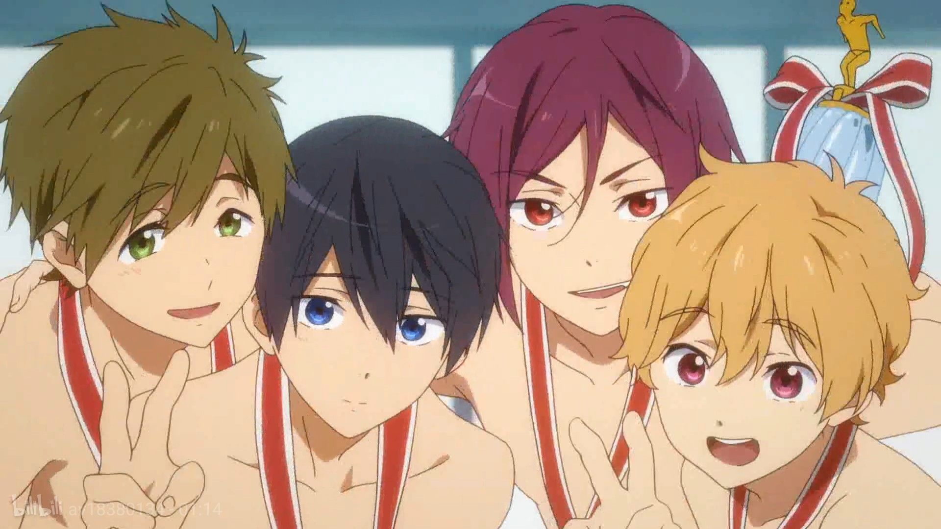 Pin by RIN刃 on FREE!男子游泳部 in 2020 Free anime, Anime