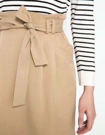 Bershka waist detail skirt.