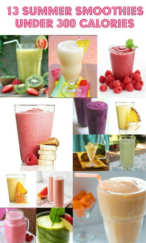13-Summer-Smoothies-Under-300-Calories