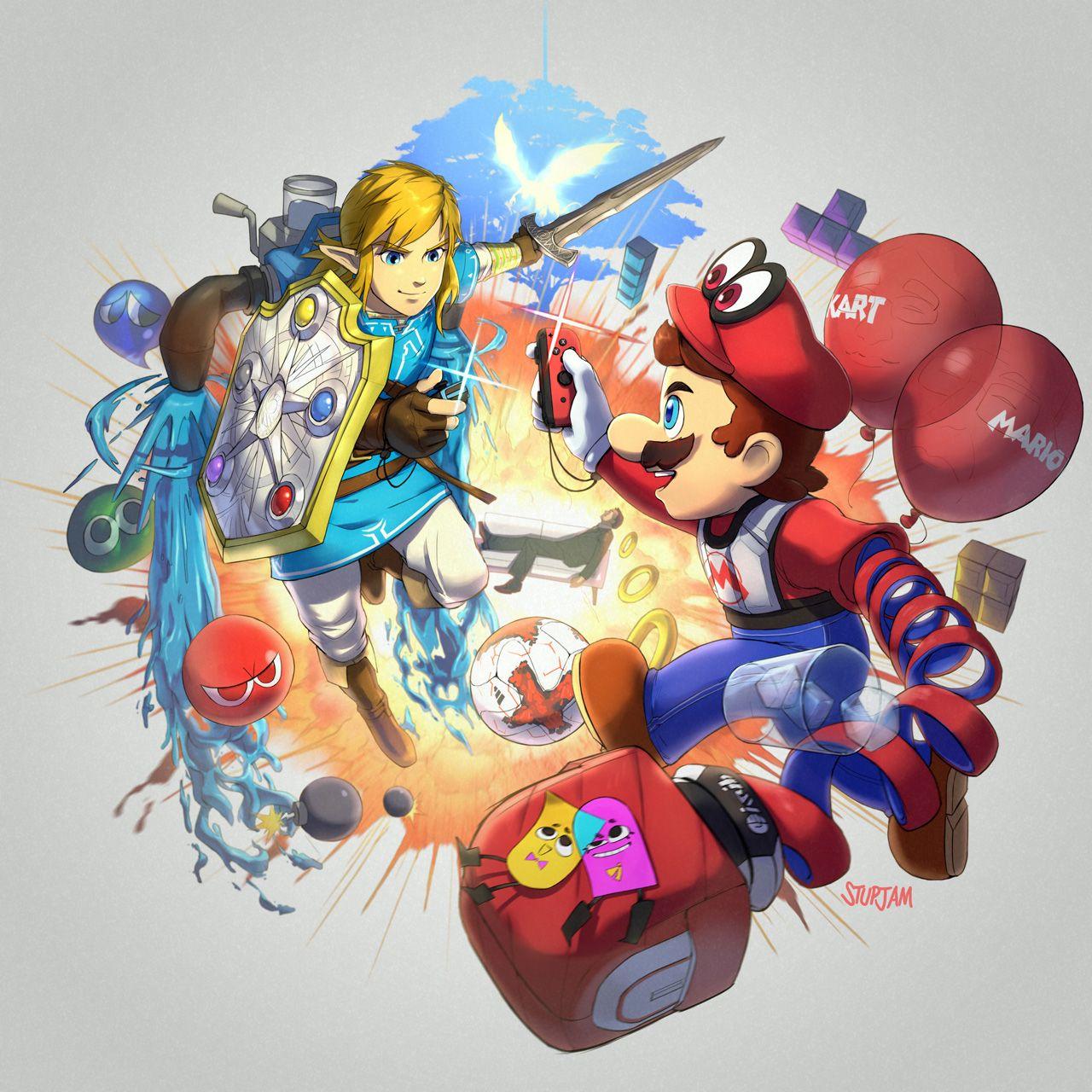 Nintendo Switch Direct by stupjam