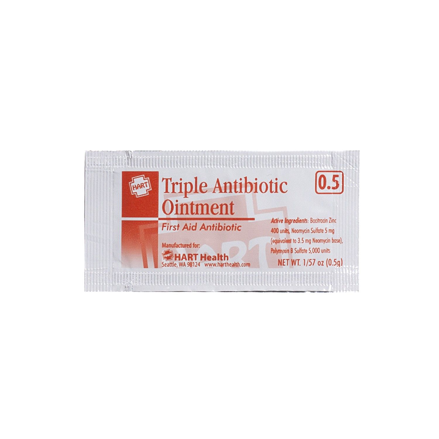 Triple Antibiotic Ointment Single Dose Packet Contains