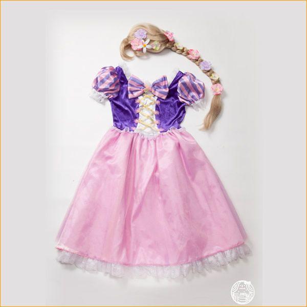 【楽天市場】ラプンツェル 衣装 ドレス 大人 コスチューム 大人 コスプレ 塔の上のラプンツェル