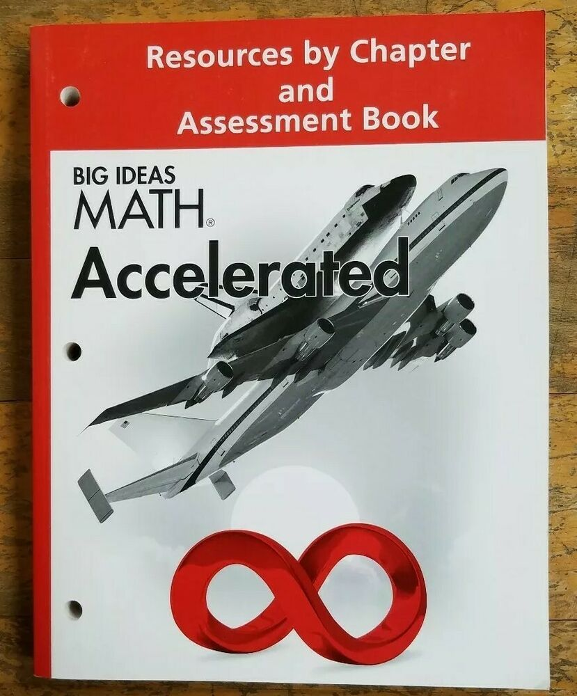 Big Ideas Math Accelerated Resources Chapter And Assessment Book Grade 7 Big Ideas Math Math Everyday Mathematics [ 1000 x 829 Pixel ]