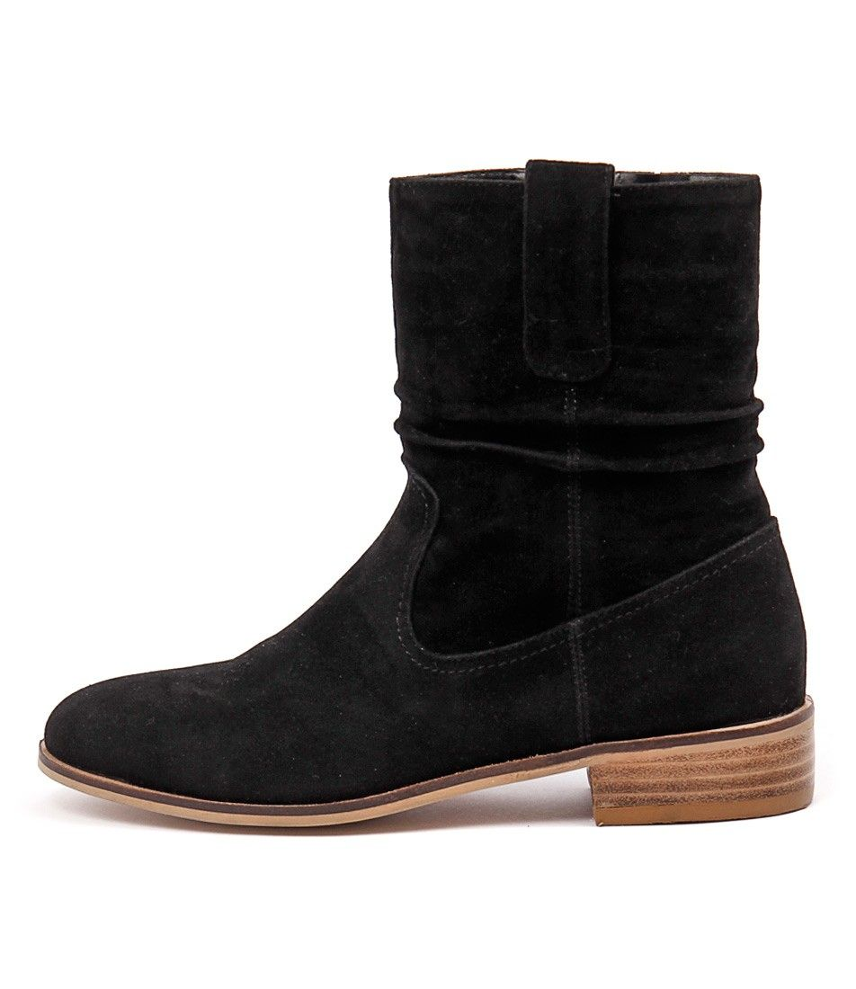 Paltrow Black Micro Suede from Ko Fashion