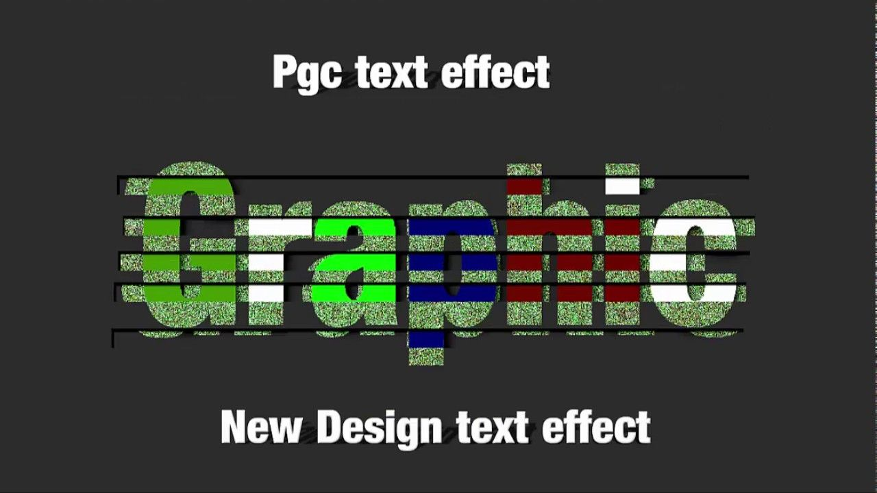 how to create a new text effect in gimp command | PGC | Gimp