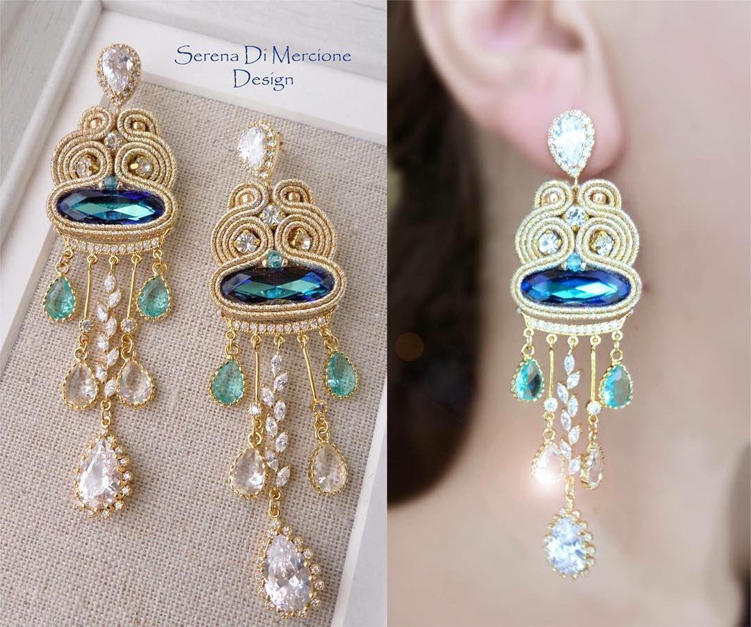 473 5 serena di mercione jewelry 473 5 serena di mercione jewelry serenadimercionejewelry elegant chandelierssoutache earringsshiboribeaded arubaitofo Images