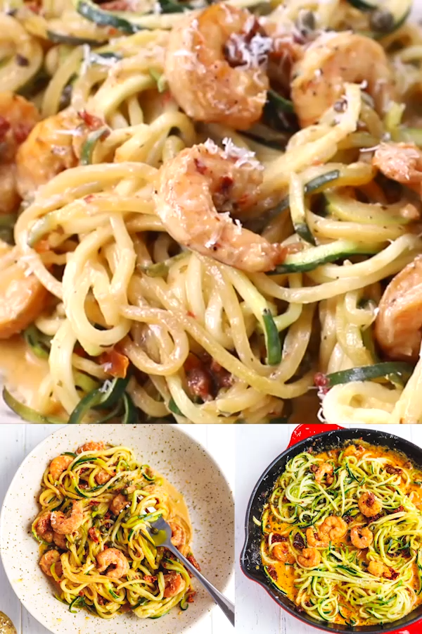 Photo of ZUCCHINI NOODLES WITH SHRIMP