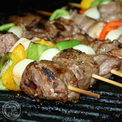 Easy Steak Kebabs