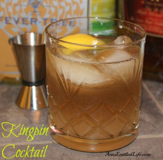 Pin by anns entitled life on bloggers favorite recipes kingpin cocktail recipe a delicious old fashioned cocktail updated with crown royal maple finished whisky view the full recipe i forumfinder Images