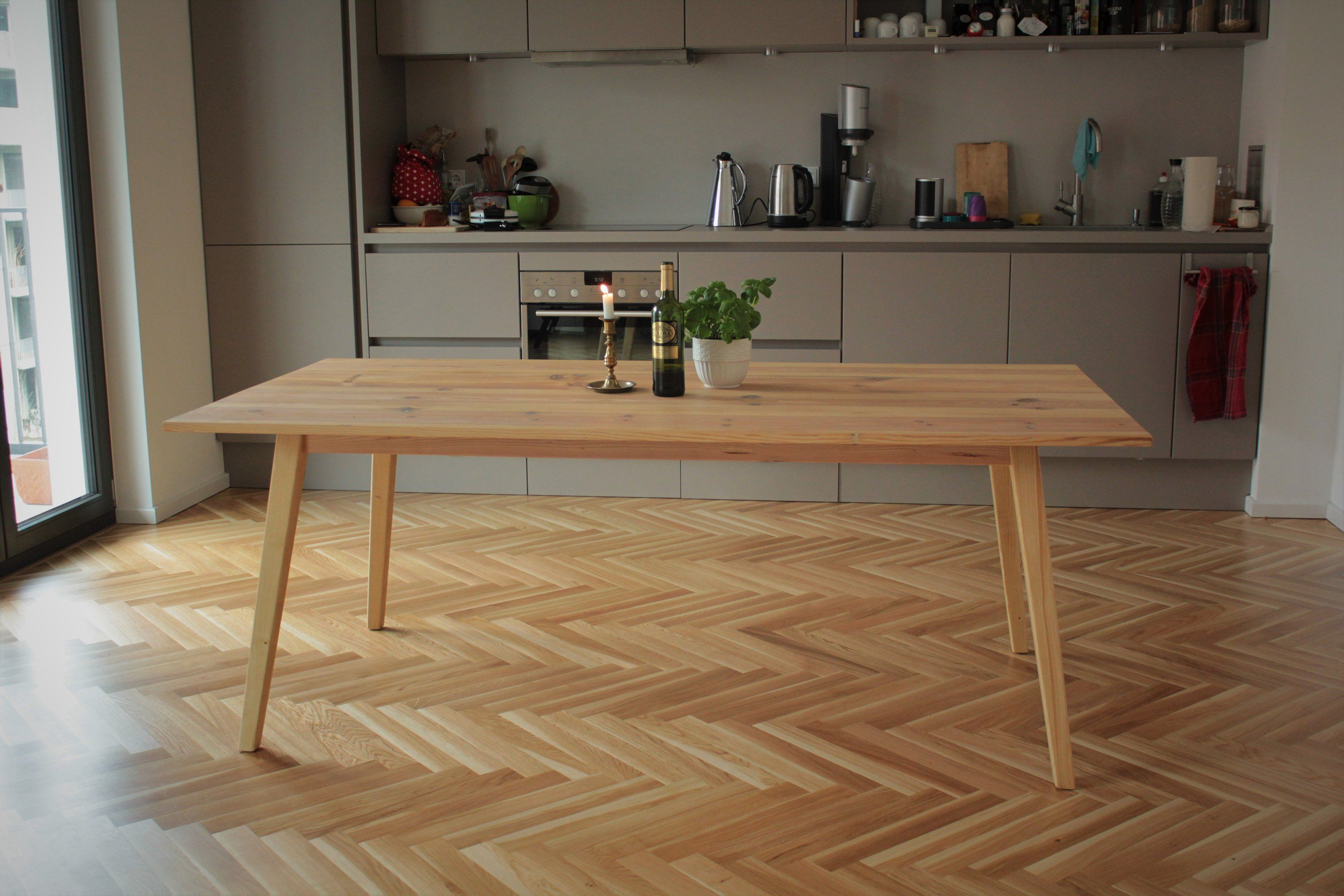 Esszimmertisch Tchibo Dining Table From Old Planks Desk Upcycling Vintage Wooden