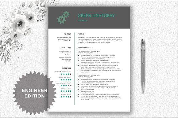 Engineer Resume Design resume, Cv template and Resume cv