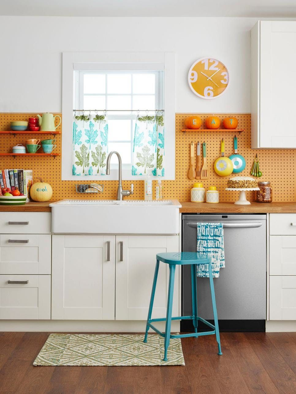 smart fresh ways to use pegboards in the kitchen kitchen