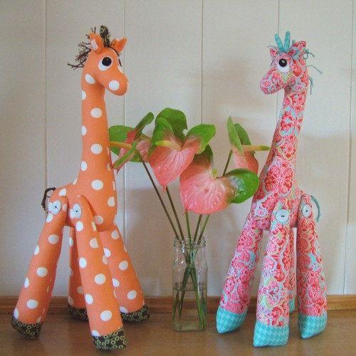 Mrs Perkins Giraffe Pattern | Süß und Basteln