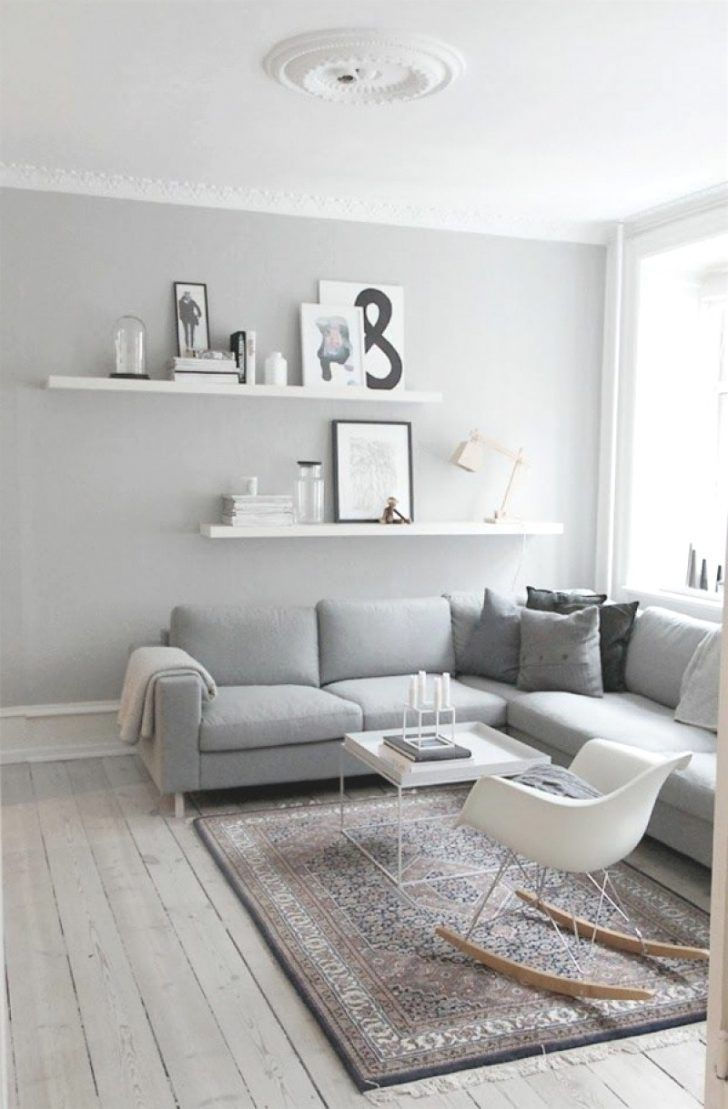 Dekoration Wohnzimmer Grau Weiß