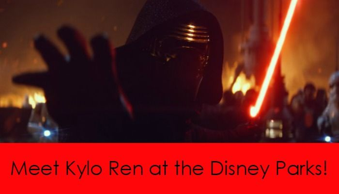 Star Wars Villain Kylo Ren is Coming to Disney Parks! Yaaaasssss!! Good thing we are planning our next trip!