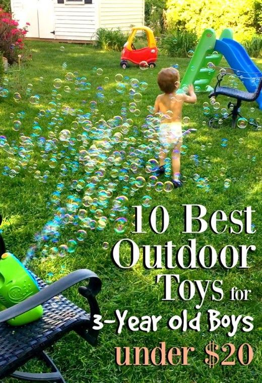 10 Best Outdoor Toys For 3 Year Old Boys Under 20