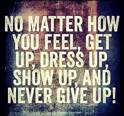 Never give up. #theconfidenceclassroom  #confidence  #hustlelife  #coach  #entrepreneur