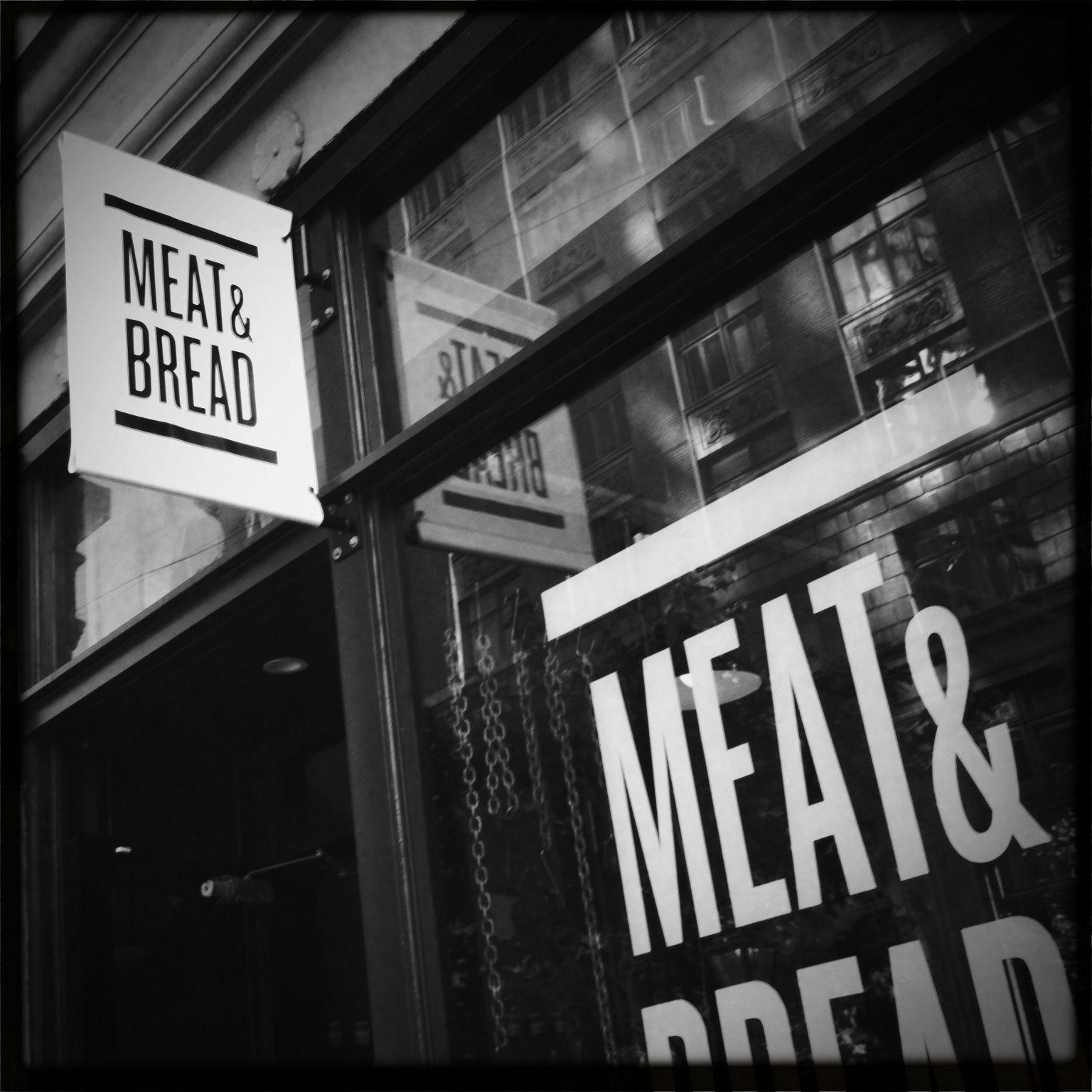 Meat & Bread - Vancouver Branding Beauties Logo Food Design