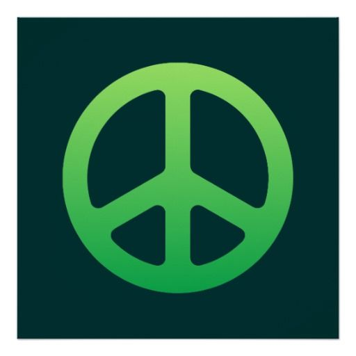 Green Peace Sign http://www.zazzle.com