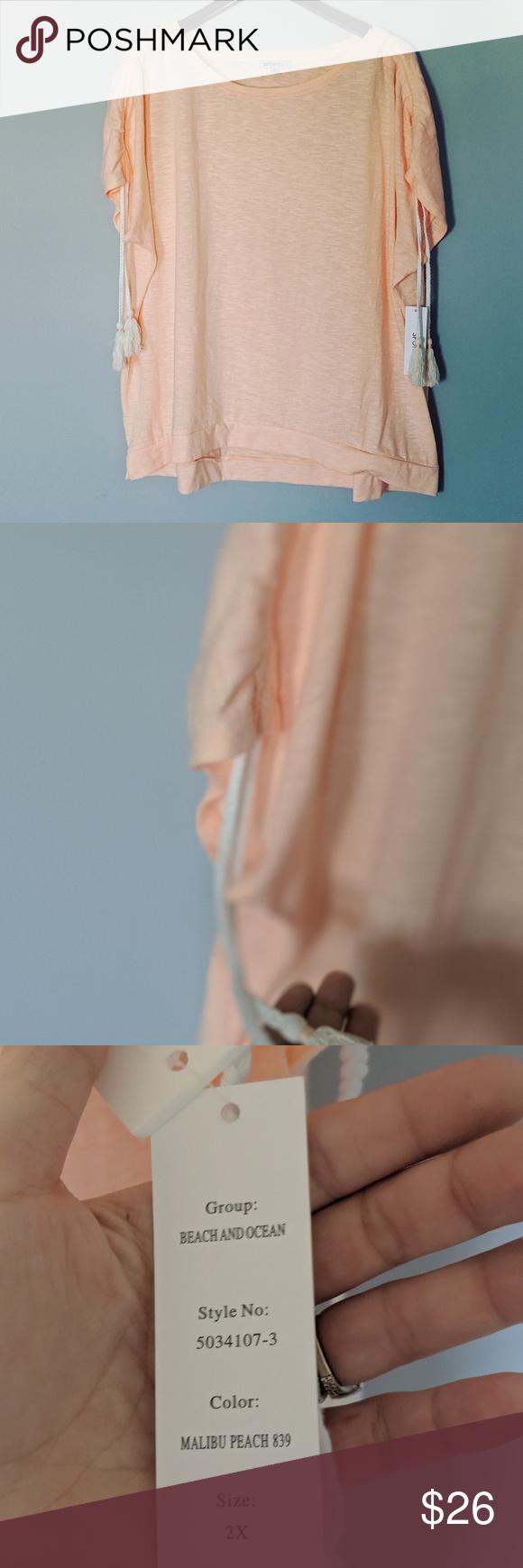 New Sportelle Plus Malibu Peach Tassel Shirt Ocean Fashion Clothes Design Hot Pink Maxi Dress [ 1740 x 580 Pixel ]