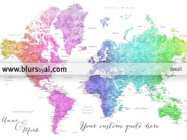 Personalized wall art personalized world map travel lover wall art personalized wall art personalized world map travel lover wall art travelling couple gift gumiabroncs Image collections