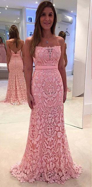cd49bf5c913 Vintage lace prom dress