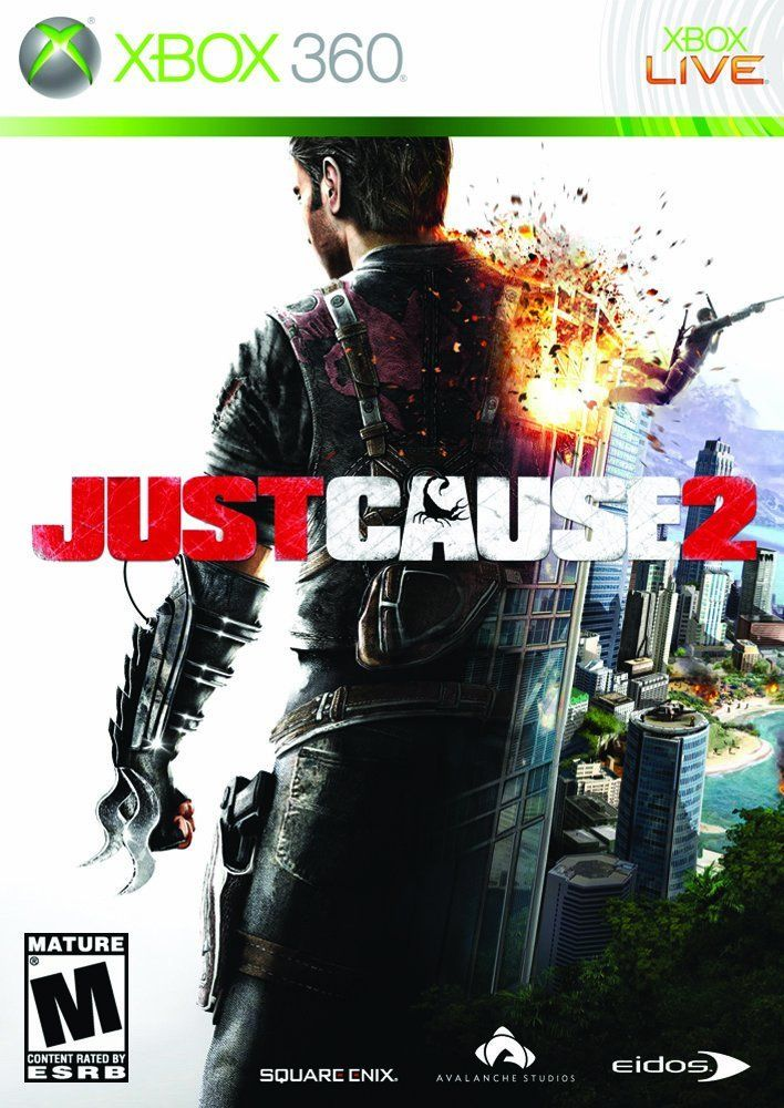 Just Cause 2 Just Cause 2 is what happens when you hook a