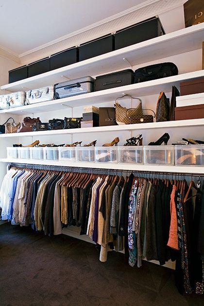 Como dise ar un vestidor armario pinterest vestidor el vestidor y el dormitorio - Disenar un armario empotrado ...