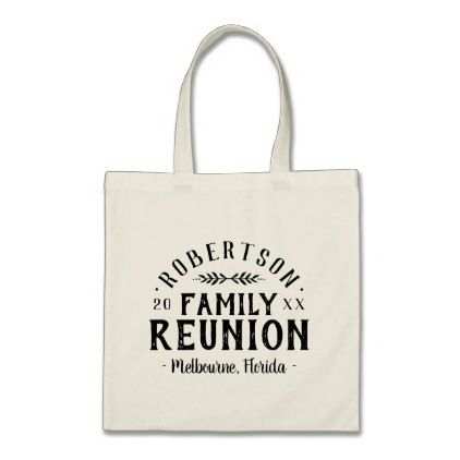 Modern rustic personalized family reunion tote bag baby gifts modern rustic personalized family reunion tote bag baby gifts giftidea diy unique cute negle Image collections