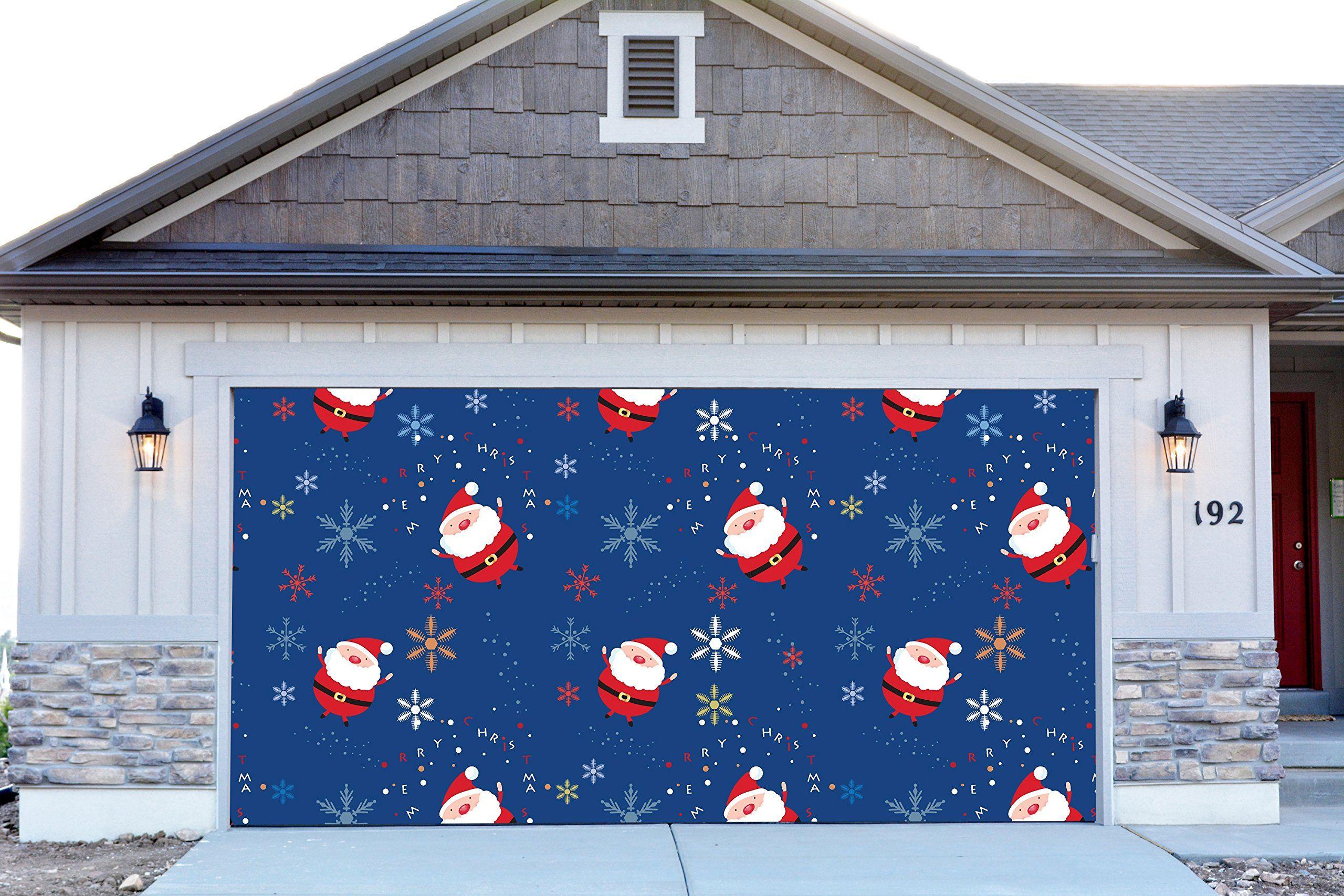 100 banner garage doors garage design efficiency garage 3d garage door covers christmas santa claus decorations outdoor rubansaba