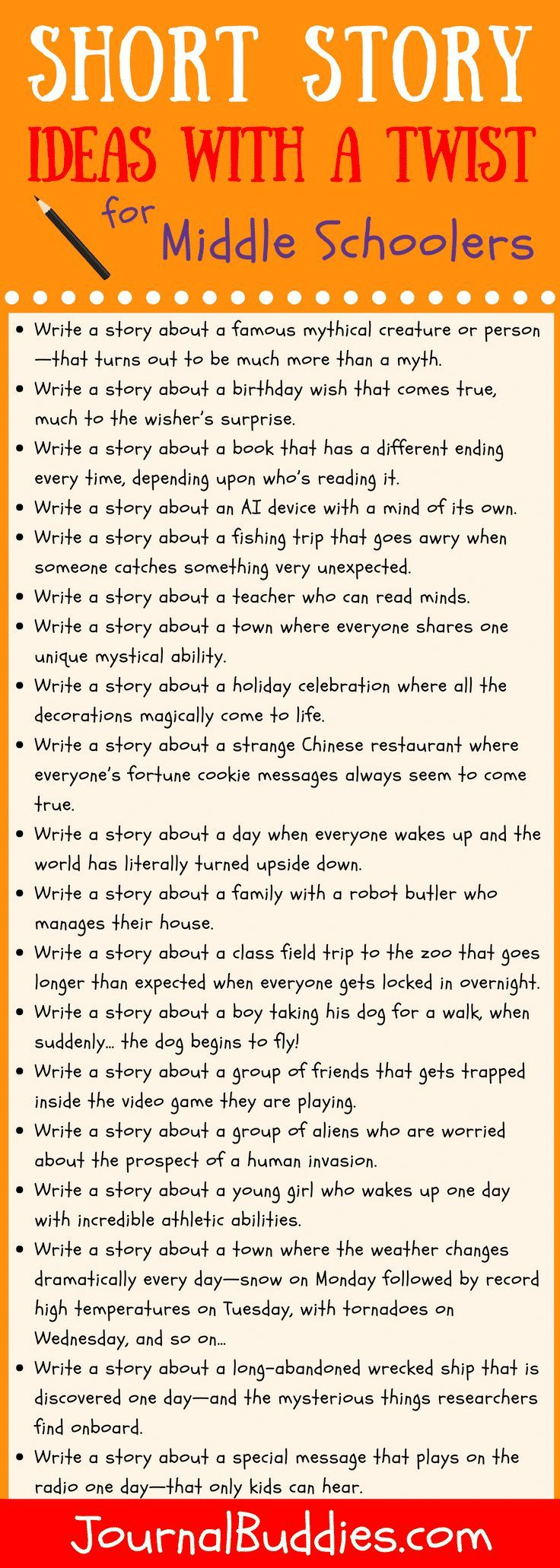 Short Story Ideas with a Twist  Book writing tips, Writing