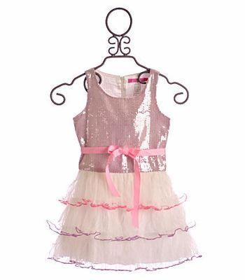 afb5f393 Little Mass Girls Sequin Dress Pink|Le Pink | Princess Ensemble ...